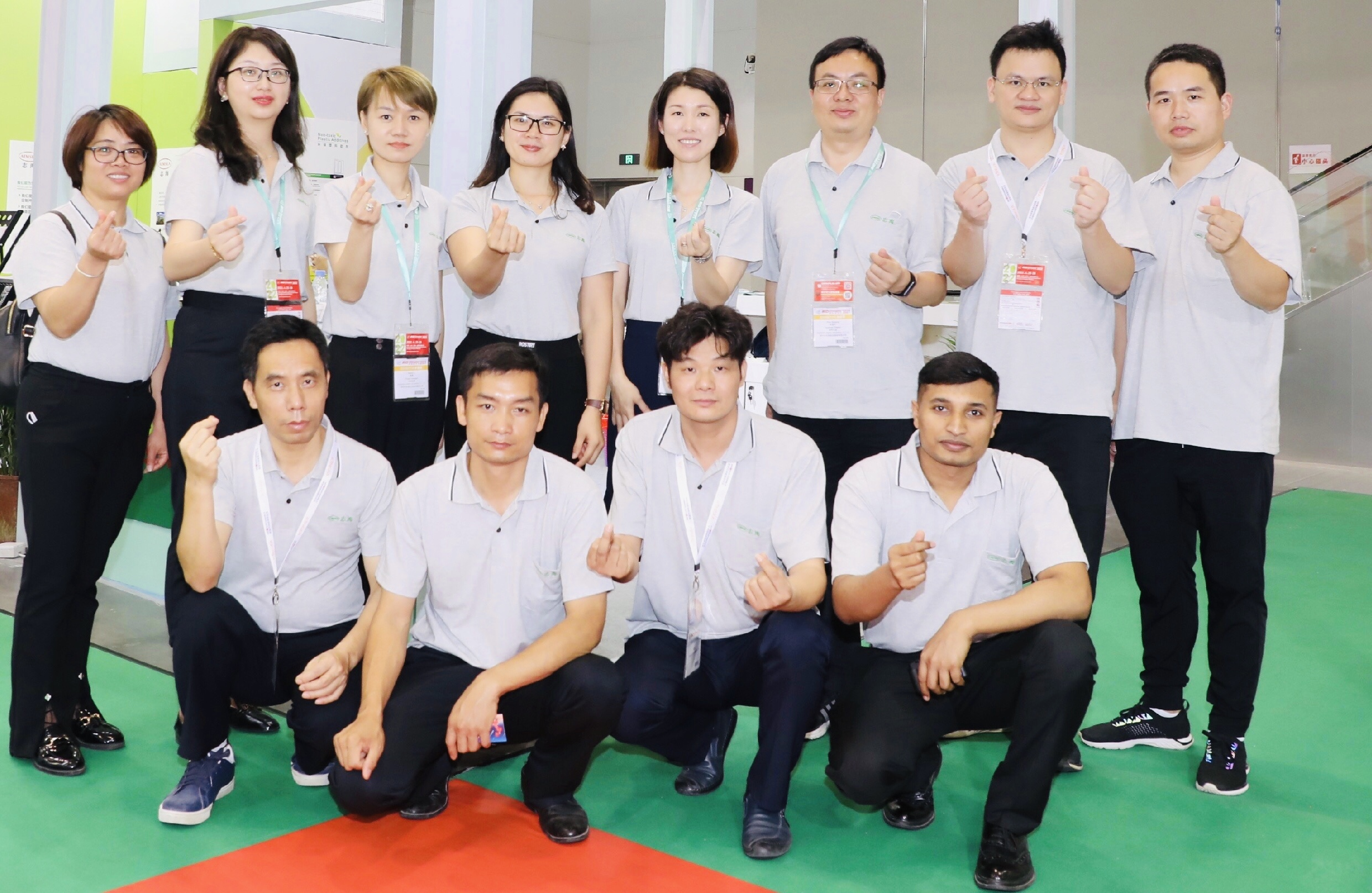 Aimsea Group successfully attended 2021 Chinaplas exhibition in new environmentally friendly polymer materials and PVC plastic additives